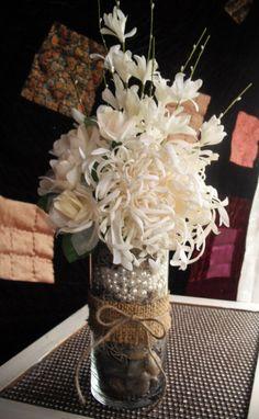 4 Vintage Shabby Chic Wedding Ideas – Shabby Chic Home Interiors Shabby Chic Wedding Decor, Shabby Chic Cottage, Vintage Shabby Chic, Shabby Chic Homes, Rustic Wedding, Flower Centerpieces, Wedding Centerpieces, Centrepieces, Artisan Cake Company