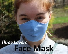 Face Mask with Ties - Cotton Fabric Face Mask - Washable Face Mask - Reusable Face Mask - Reversible Face Mask - Cotton Quilting Fabric