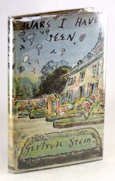 FIRST-EDITION-1945-WARS-I-HAVE-SEEN-GERTRUDE-STEIN-CECIL-BEATON-HARDCOVER-w-DJ