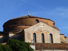 De Basiliek op Torcello is de oudste in de Lagune van Venetië