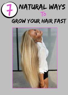 Women's Mag Blog: 7 Natural Ways to Grow Your Hair Fast
