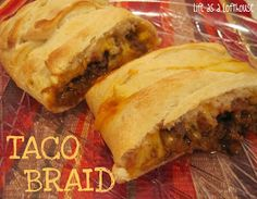 Life as a Lofthouse (Food Blog): Taco Braid
