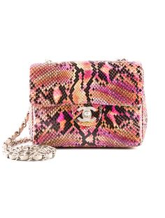 Must Have Bag!  ....Chanel Crossbody Bag.  Absolutely love the multicolor hand painted python for summer!  This bag is way too cool!