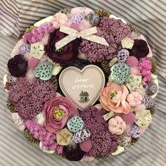 KippKopp ajtódíszek 2. - Villa Majolika Door Hangers, Floral Wreath, Wreaths, Spring, Creative, Villa, Handmade, Decoration, Food