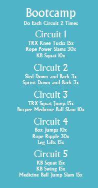 Bootcamp Workout 2