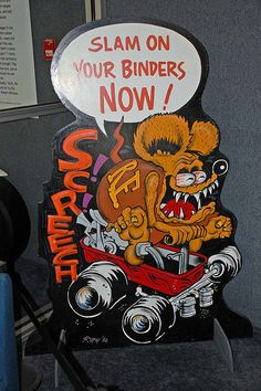 Rat Fink from Ed Roth 1992