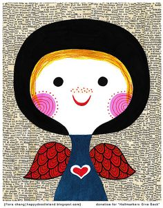 Love by Flora Chang of Happy Doodle Land
