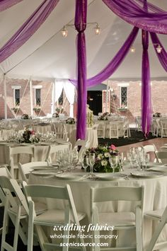 Get all of your wholesale fabrics from Scenicsource Fabrics, Inc. Around for over 20 years, Scenicsource thrives in quality, affordable fabrics, with speedy delivery. Wedding Ceremony Decorations, Table Decorations, Fabric Backdrop, Wedding Fabric, Stage Design, Event Decor, 20 Years, Corporate Events, Special Events