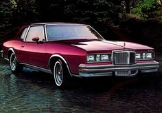 """1980 Pontiac Grand Prix  Mine was a black on black with """"real"""" wire wheels (Bettie loved this car, named it Black Beauty)"""