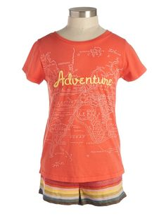 Adventure Tee - Girls - Categories - new arrivals | Peek Kids Clothing