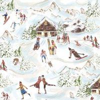 2142 Servilleta decorada Navidad