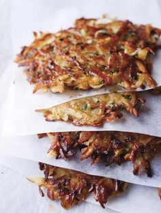 Latkes Recipe from Yotam Ottolenghi and Sami Tamimi