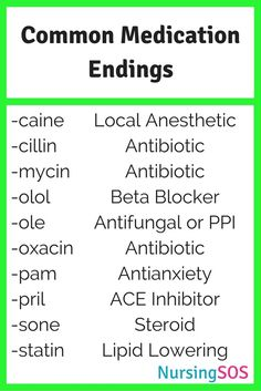 Medication Endings You Need to Know in Nursing School. Click through for Common Medication Endings You Need to Know in Nursing School. Click through forCommon Medication Endings You Need to Know in Nursing School. Common Medications, Nursing School Notes, Nursing Schools, Lpn Schools, Nursing School Humor, Nursing School Motivation, Funny Nursing, Nursing Tips, Nursing Programs