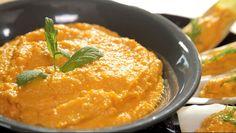 Spicy Carrot Greek Yogurt Dip