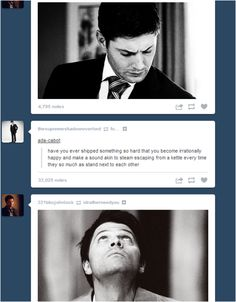 This is perfect! / Destiel
