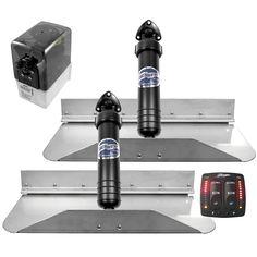"Bennett 189EIC Hydraulic Trim Tab Set with Electronic Indication Control - 18"" x 9"""