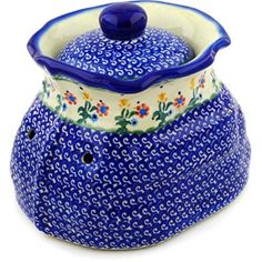 Ceramika Bona H0413C Polish Pottery Ceramic Garlic and Onion Jar Hand Painted 9Inch >>> Find out more about the great product at the image link.