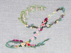 Mille fiori alphabet - L