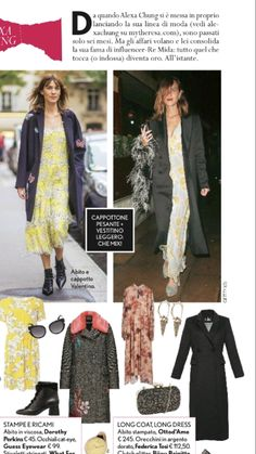 @alexachung in TuStylemagazine earrings botton tip #federicatosi #alexachung