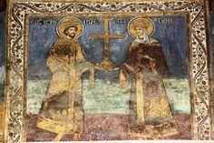 Mănăstirea Hurezi și-a serbat hramul | Arhiepiscopia Râmnicului Album, Ornaments, Painting, Art, Art Background, Painting Art, Kunst, Paintings, Christmas Decorations