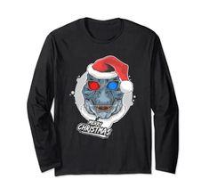 Merry Christmas Dinosaur Wearing Santa Hat T-Rex Long Sleeve T-Shirt Christmas Fun Merry Christmas Funny, Funny Christmas Shirts, Christmas Humor, Christmas Dinosaur, Shirt Price, Santa Hat, T Rex, Graphic Sweatshirt, T Shirt