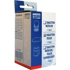 TABLETTENTEILER:   Packungsinhalt: 1 St PZN: 02037208 Hersteller: Dr. Junghans Medical GmbH Preis: 2,03 EUR inkl. 19 % MwSt. zzgl.…