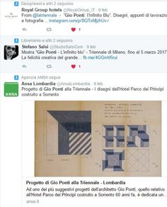 #gioponti #infinitoblu #decori #ceramicafrancescodemaio #creatività #design #architettura #giopontidesign #bluponti #libroinfinitoblu #mostrainfinitoblu #milano #triennale #giopontilinfinitoblu #ceramiche #maioliche #madeinitaly #decoratoamano #tiles #ceramicsofitaly #italiandesignday