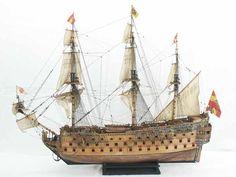 Sailing ship model - SAN FELIPE of 1690