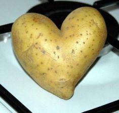 And a potato chip heart! And a potato chip heart!