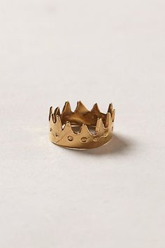 OCT 2013-Crown Ring #anthropologie