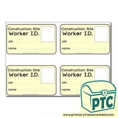 Construction Site Role Play Resources - Primary Treasure Chest Pretend Play, Role Play, Teaching Channel, Dramatic Play Centers, Teaching Activities, Teaching Ideas, Construction Theme, Singing Tips, Play Centre