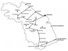 Gli itinerari proposti nella guida