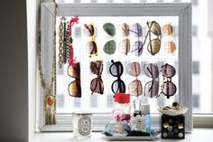 Organized sunnies.