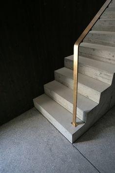 mlzd ewi Einfamilienwohnhaus Ipsach Treppe