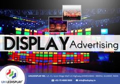 Growth and Benefits of #Display_Advertising | UH LEDISPLAY