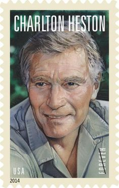 Great news! The Legends of Hollywood series will return in 2014 with a stamp celebrating the work of actor Charlton Heston. A release date will be announced soon.