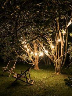 Guirnalda de luces bajo consumo