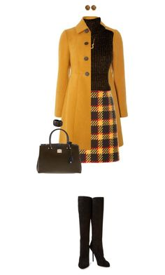 """""""Fall Colors"""" by ittie-kittie ❤ liked on Polyvore featuring Dorothy Perkins, Marni, Boohoo, Kris Nations, Sergio Rossi, Henri Bendel, Kevin Jewelers, Kenneth Jay Lane, Fall and fallfashion"""