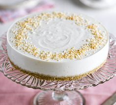 This clever cheesecake uses crushed oatcakes and desiccated coconut for the base and naturally sweet pineapple for a lower-sugar dessert