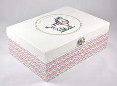 Pudełko 'Sweet zebra' w White Blue na DaWanda.com