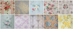 vintage wallpaper collage http://www.letit.info/archives/26.html