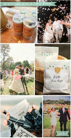 wedding ceremony rice toss alternatives, creative aisle exit, running down the aisle, Wouldn't it be Lovely