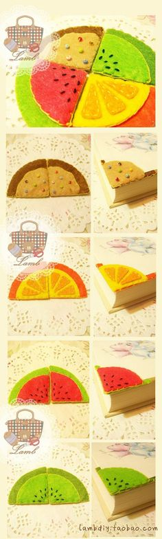 Fruit Bookmark