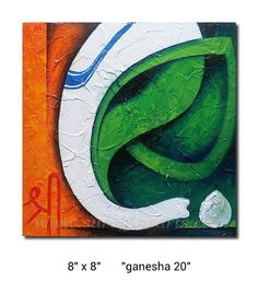 Ganesha in the tricolor! So proud:)