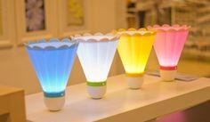 INFMETRY:: Badminton Shaped Night Light - Bed&Bath - Home&Decor