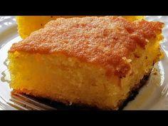 Ραβανί της Γκολφως αφρός η καλύτερη συνταγή δοκιμάστε το. - YouTube Dessert Recipes, Desserts, Cornbread, Recipies, Coconut, Sweets, Ethnic Recipes, Food, Cakes