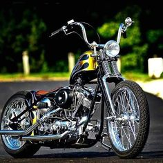 More Bobber and Chopper pics & videos at www.choppertown.com