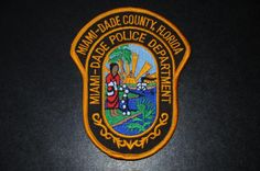 Miami-Dade County Police Patch, Florida (Current Issue)
