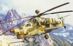 Mil Mi-28N Night Hunter Attack Helicopter BFD