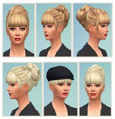 Party Bun at Birksches Sims Blog via Sims 4 Updates